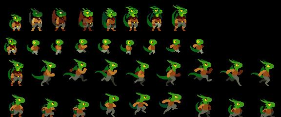 Old Dragorogue Sprites by DragonDePlatino