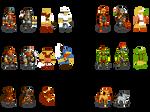 256-Color Dwarf Fortress Sprites