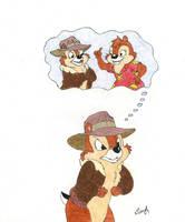 Chip 'n Dale by lliliyal
