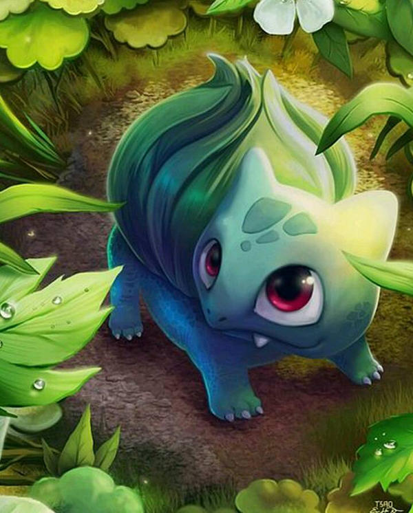 Bulbasaur by Clemontiscute123