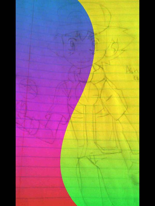Rainbow ashy by Clemontiscute123