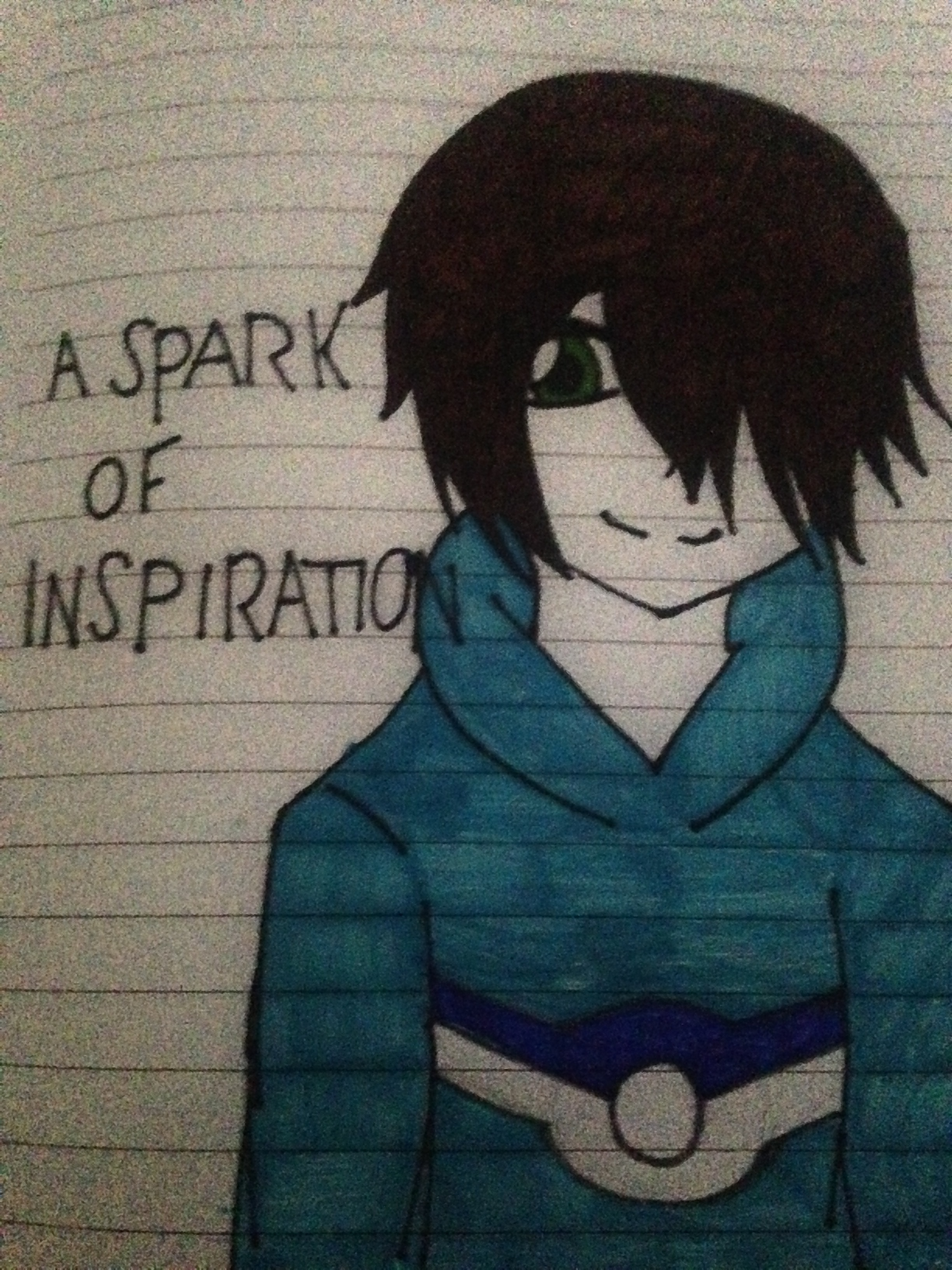 A Spark Of Inspiration by Clemontiscute123