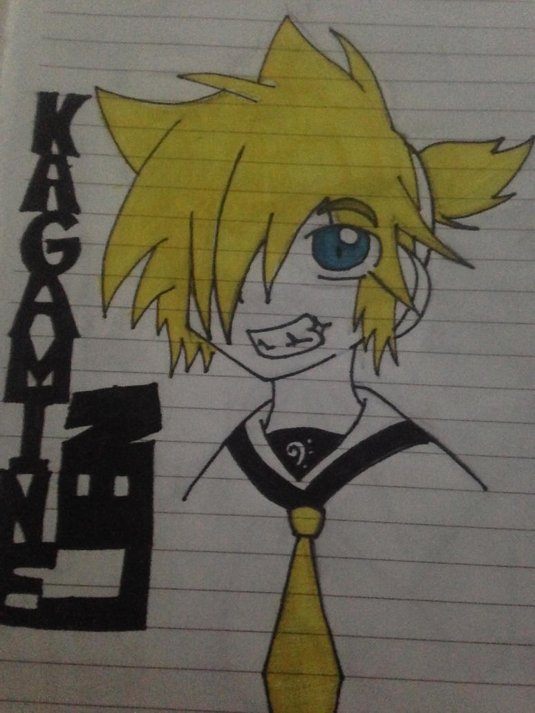 Len Kagamine by Clemontiscute123
