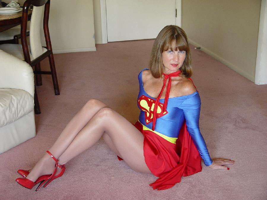 Christina carter as wonderwoman