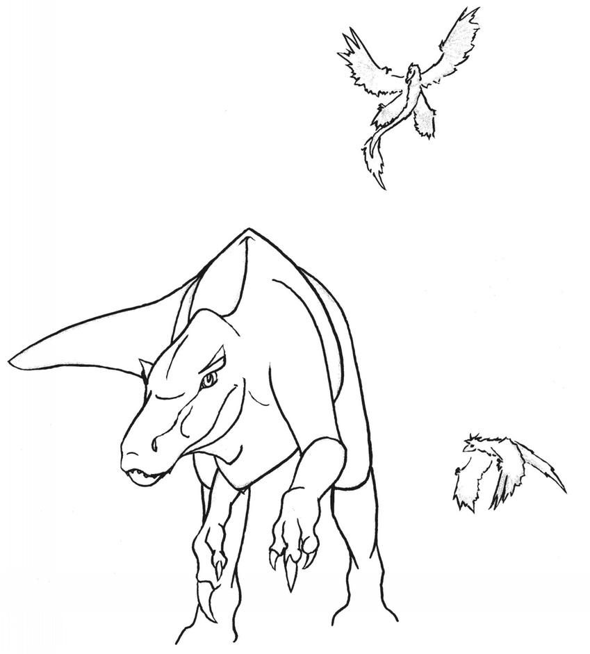 Tape worm pages coloring pages for Baryonyx coloring pages