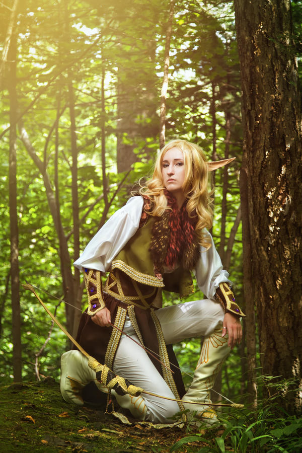 Elf From The Woods by Black-Bl00d on DeviantArt