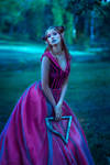 Elf woman by Black-Bl00d