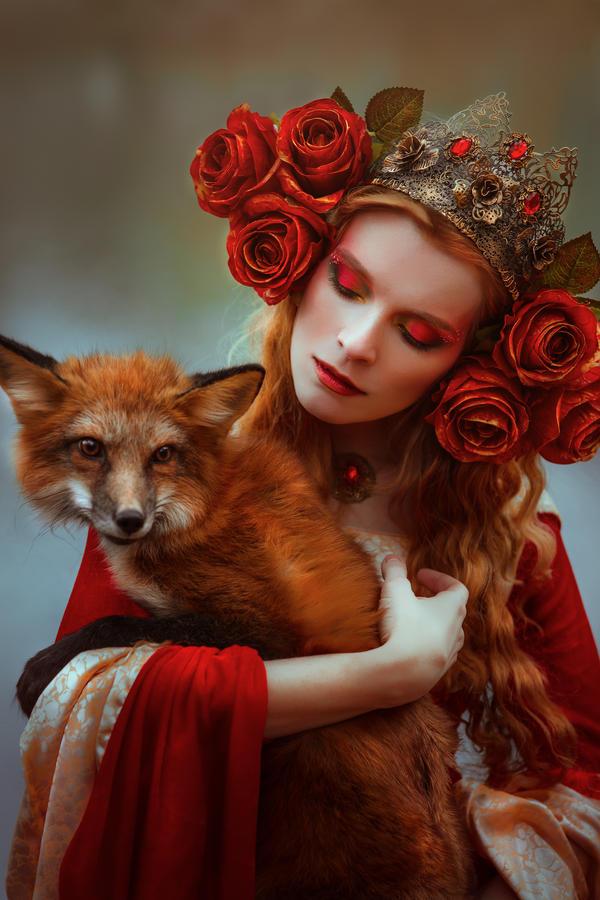Autumn Goddess By Black Bl00d On Deviantart