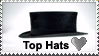 Top hats Love by Adhdave