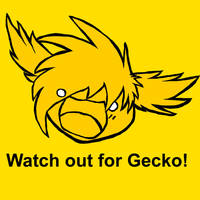 Watch out for Gecko by Forest-shrine-wolf
