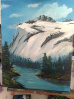 Snowy Glacier by SuckAClock