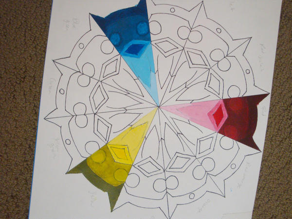 Color Wheel Project By Fire Sama