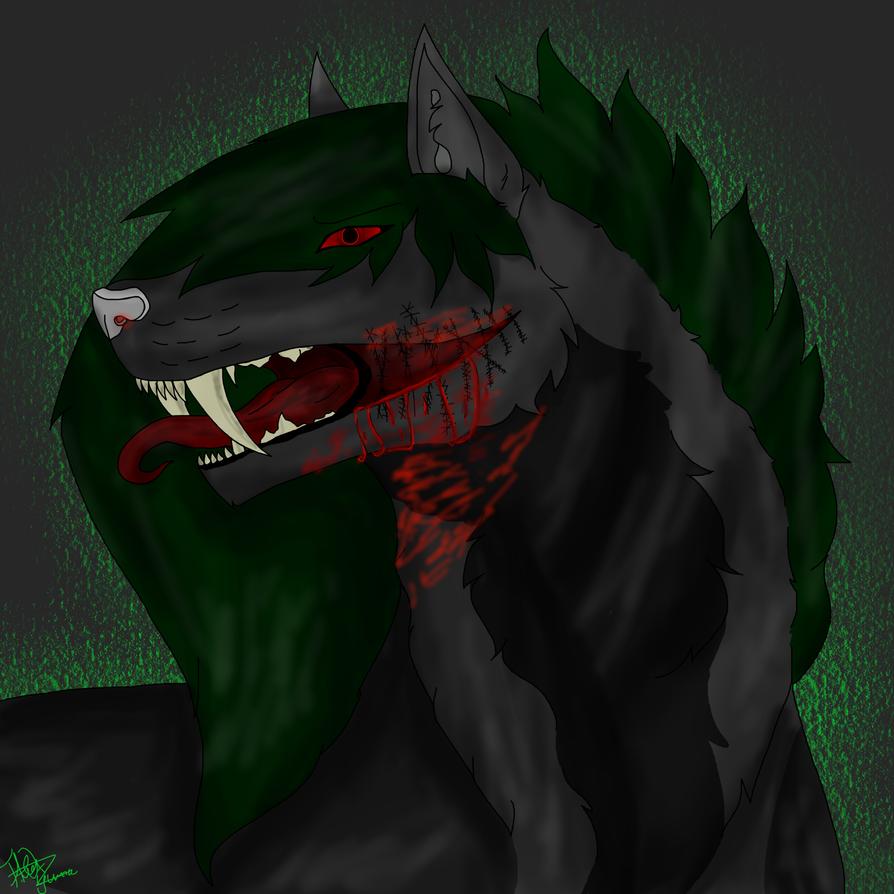 Wolf psycho by Wolfsalterego