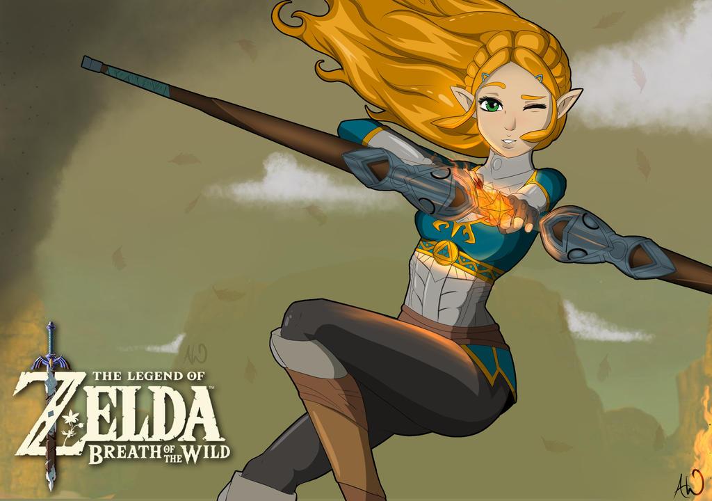 Zelda fan art porn