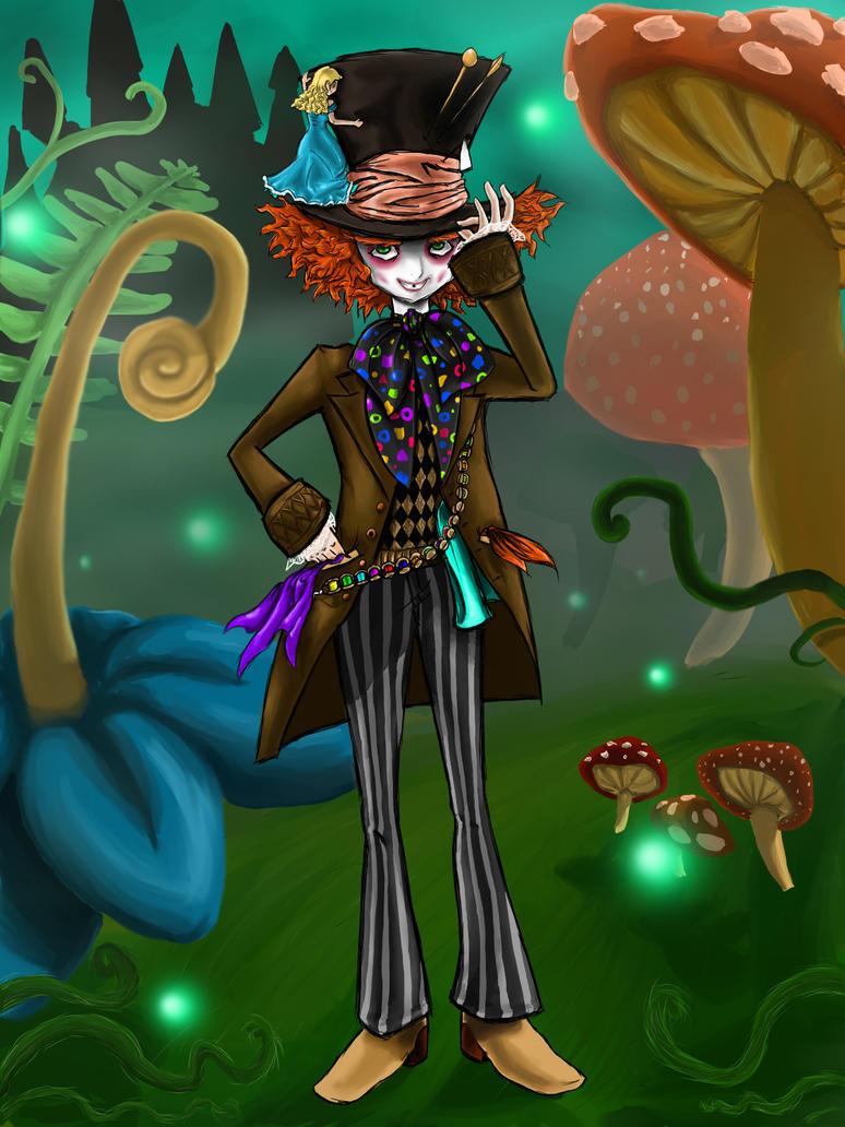 Mad Hatter in Wonderland by MissANN91