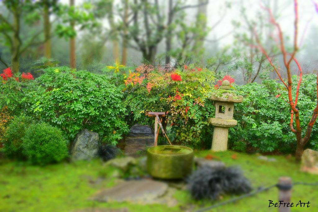 Kioto Park in Holland Park Lodon by BeFreeArt