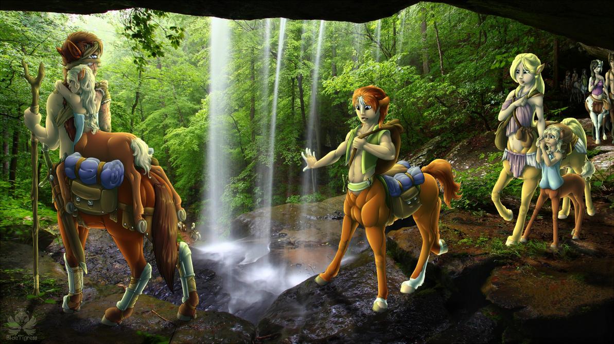 .Centaur trail. by CopyCat87