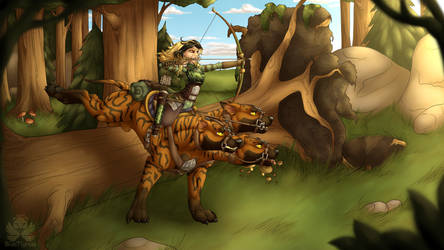 . Forest Hunt . by CopyCat87