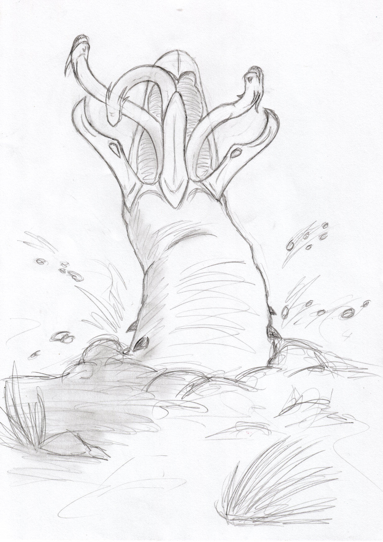 Graboid attac. by CopyCat87