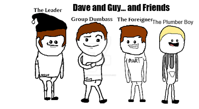 Dave and Guy... and Friends by DaveCreator