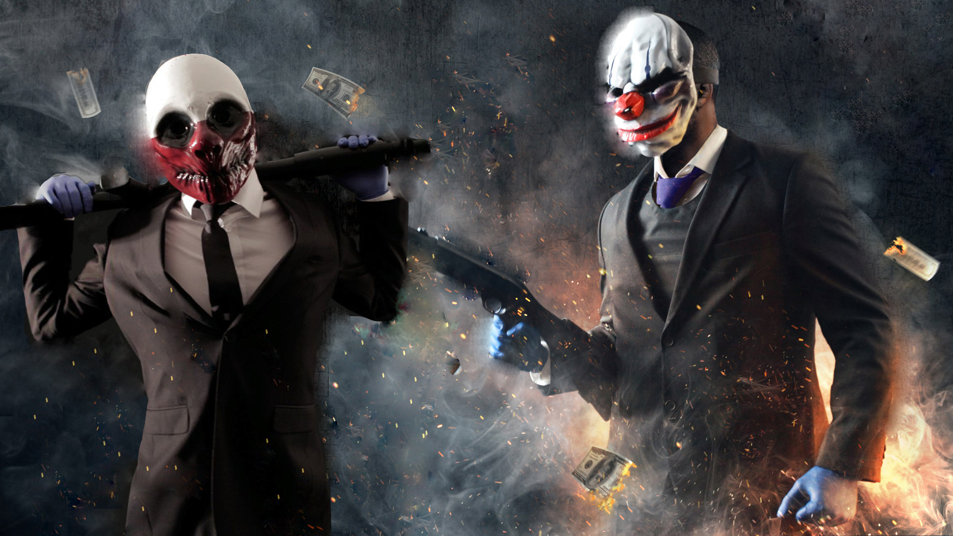 Payday 2 Chains and Wo...