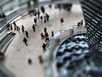 Berlin Bundestag - Tilt Shift