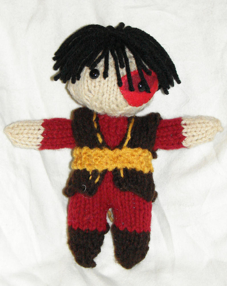Zuko 3rd Season Doll by TNAotC