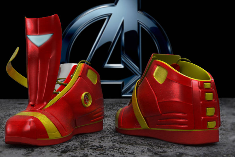 avengers ironman shoes by lordthanosx on deviantart