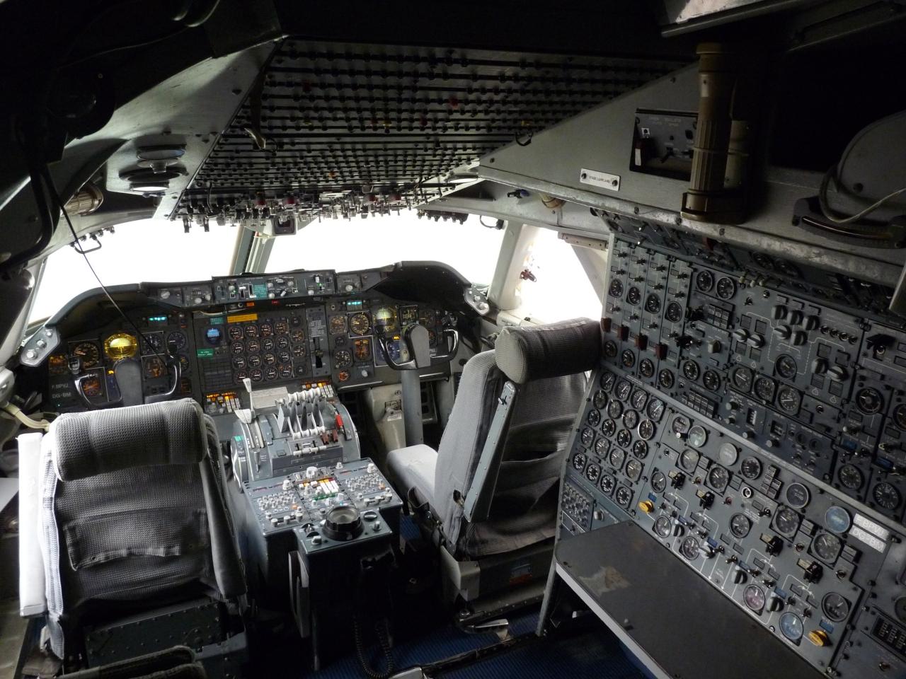 boeing 747 classic cockpitbabynuke on deviantart