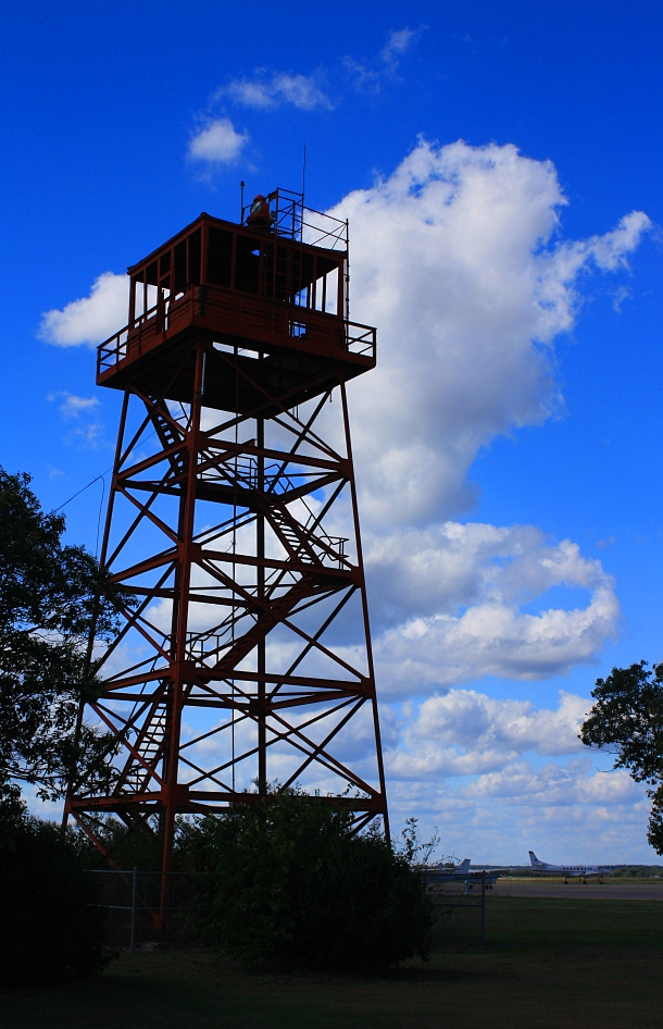 Old San Marcos Tower by babynuke