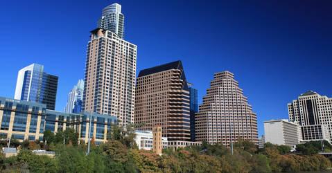 Fall colours in Austin by babynuke
