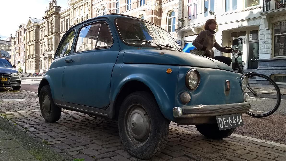 Fiat 500 by babynuke