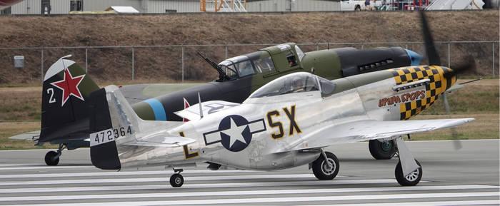 Mustang and Sturmovik