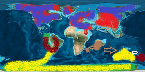 Ratite Distribution in the Paleocene