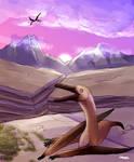 Commission: Navajodactylus by Inmyarmsinmyarms