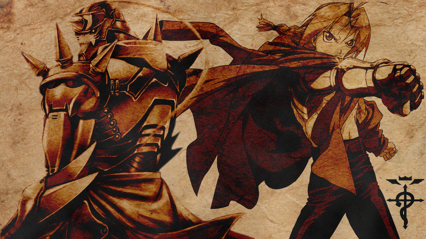FullMetal Alchemist Wallpaper by DarkSaiyan21