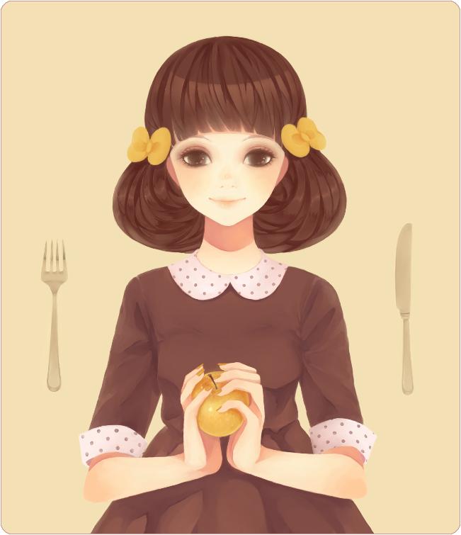 Rsultats de recherche dimages pour apple  girl