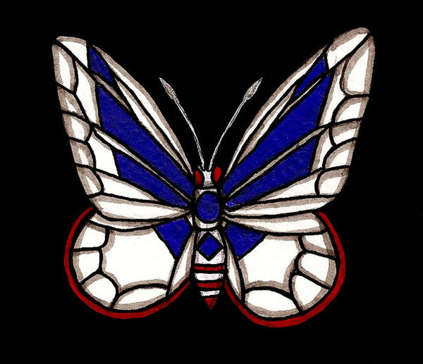 Air Force Butterfly