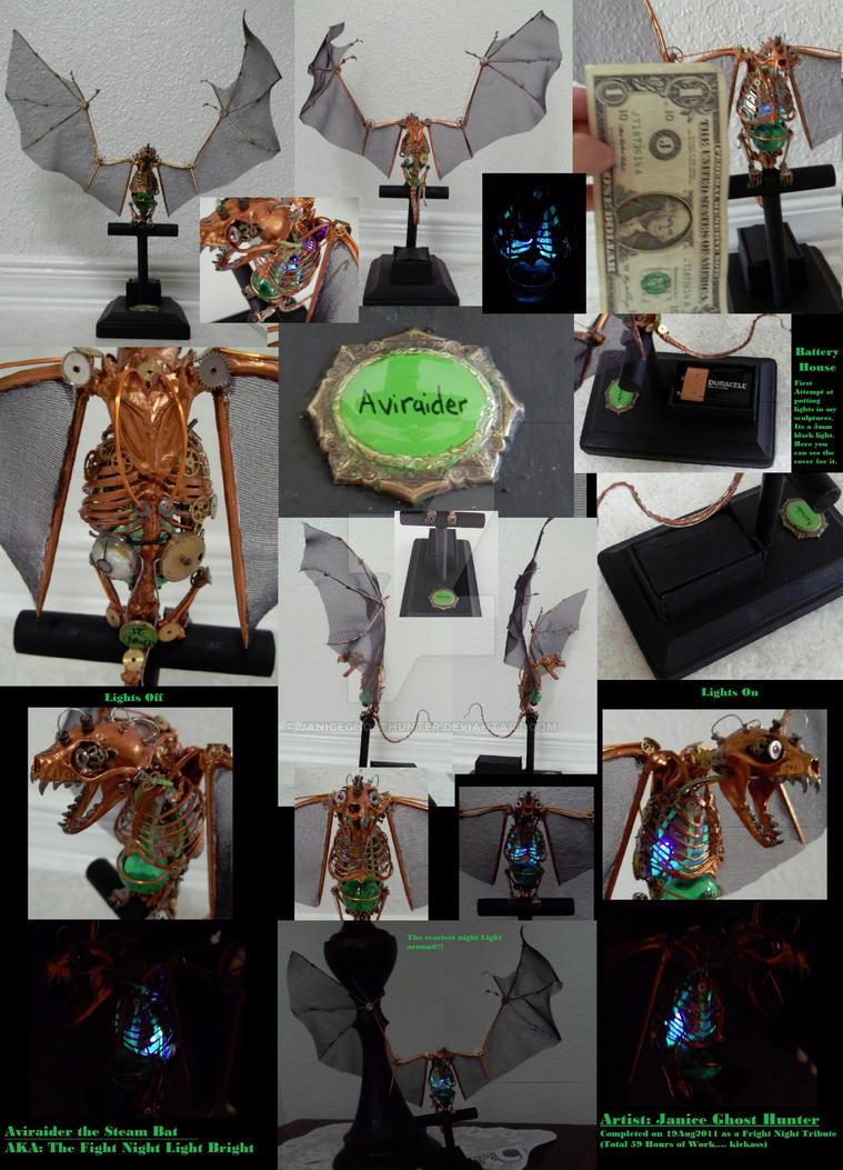 Aviraider the Steam Bat by janiceghosthunter