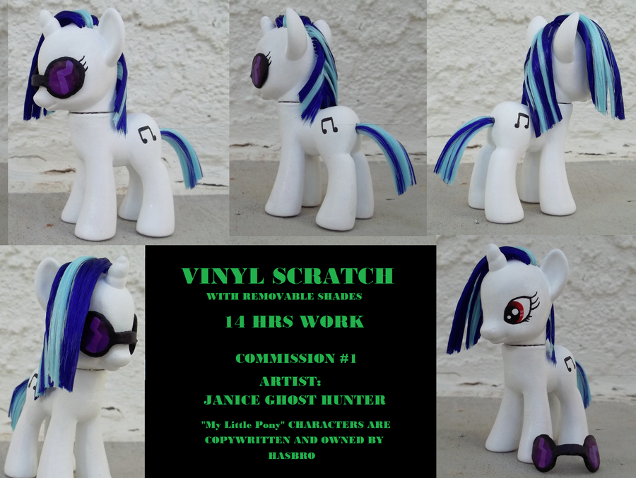 Custom Vinyl Scratch by janiceghosthunter