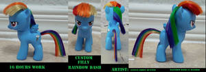 Custom Filly Rainbow Dash