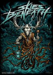 Moose Skull Mage by Veneq