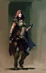 Scifi Rogue - Colored by Veneq