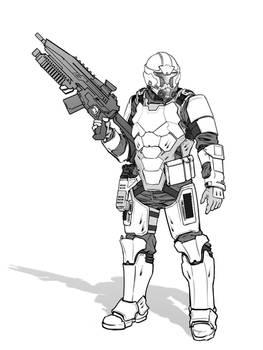 Future Marine Armor