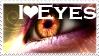 I Love Eyes Stamp by Sugargrl14