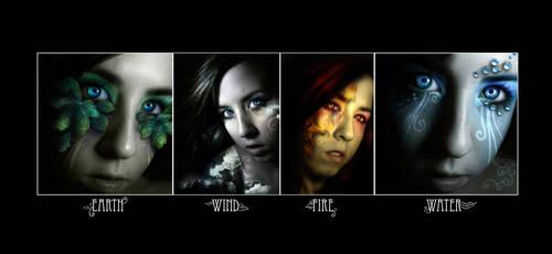 The Elemental Goddesses by Sugargrl14