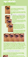 Eye Tutorial-Make Up + Swirls