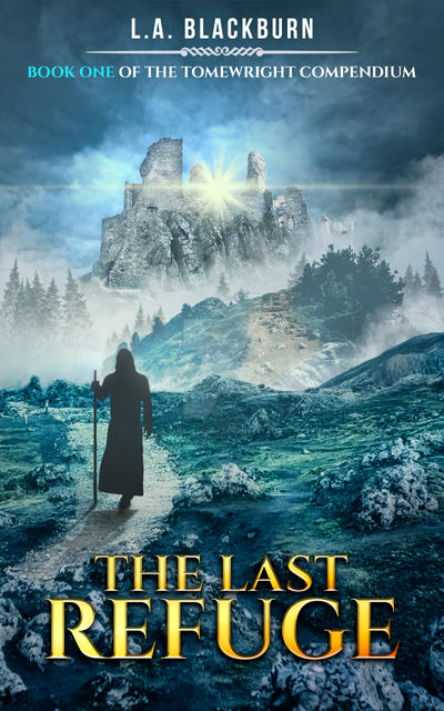 The Last Refuge Book Cover by SanagaDesign