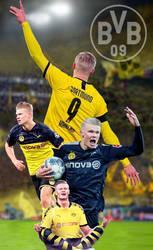 Haaland  Borussia Dortmund  Poster