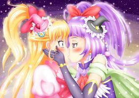 Mirai x Riko / Cure Miracle x Cure Magical by John-Hayabusa